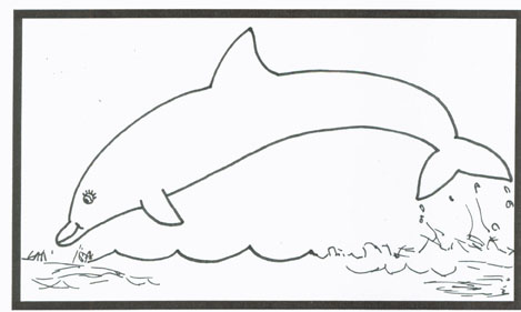 sponsored blogs pictures of dolphins to colour in