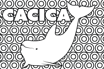 Drawing of Cacica