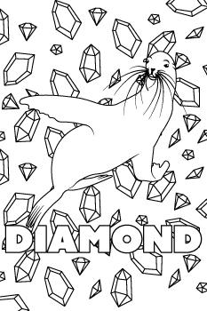 Drawing of Diamond
