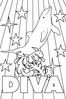 Diva drawing