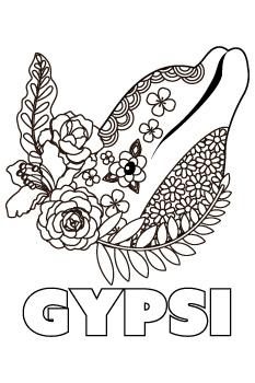 Gypsi drawing.