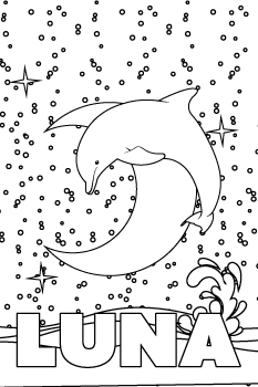 Luna drawing