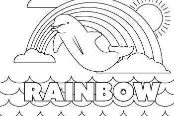 Drawing of Rainbow