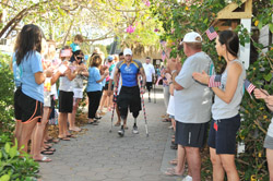 Dolphin Research Center welcomes our wounded warriors to swim and play with the dolphins.