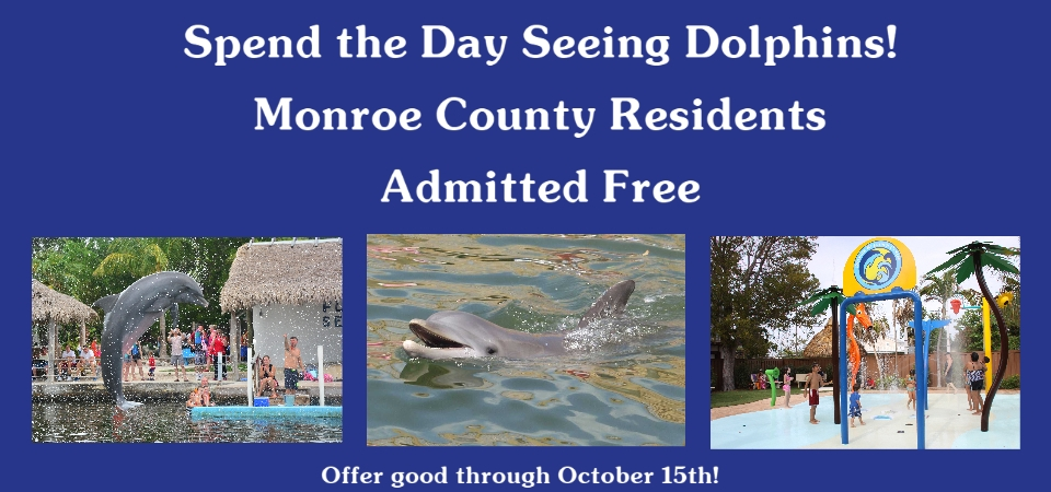 Monroe County residents admitted free through October 15th. Please sh